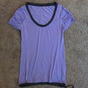 Lululemon athletic yoga running cycling top size 2